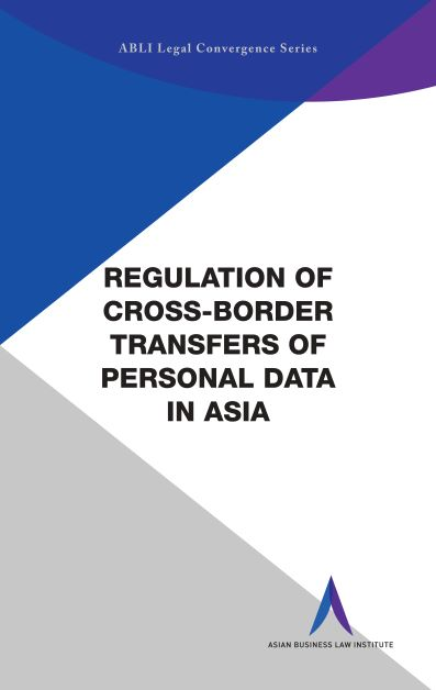 Regulation of Cross-Border Transfers of Personal Data in China