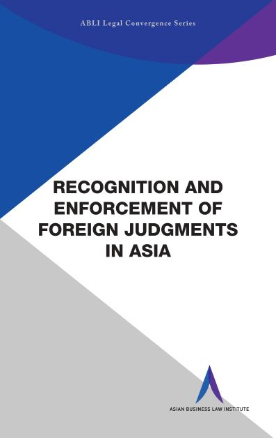 Recognition and enforcement of foreign judgments in Asia